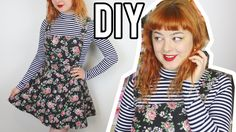DIY Pinafore - With Adjustable Straps! | Make Thrift Buy #24