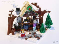LEGO-Winter_Village-Maple_Syrup-07 by ~EmmaC~, Ehh... it has potential, needs a little work