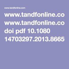 www.tandfonline.com doi pdf 10.1080 14703297.2013.866592