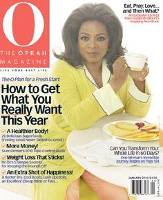 Magazines: O, The Oprah Magazine (1-year auto-renewal)