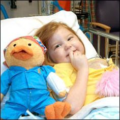 Stuffed animal that helps kids learn about cancer treatment - We LOVE Gabe the Chemo Duck!