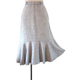 1940s skirts | Vintage 1940s Skirt : Flirtation Walk Swing Skirt