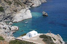 Agia Anna beach in Amorgos