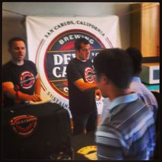 Spreading the craft beer gospel to the fine folks at #Fluidigm - #craftbeer #devilscanyon