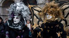Silver and Gold Fairies - Venice Carnival 2012 Beautiful Mask, World Best Photos, Mardi Gras, Masquerade, Venice, Fairy, Halloween, Image, Masks