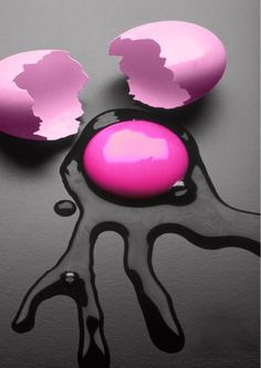 Pink & Black, I want these eggs in my world