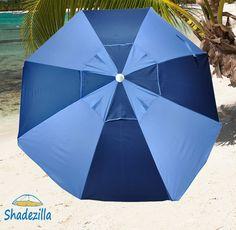Heavy Duty Wind-Resistant Beach Umbrellas $76 beachmall.com