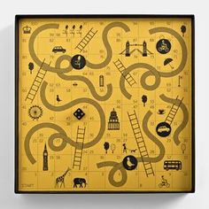 Snakes and Ladders || Together Design || http://www.perfectlyputtogether.co.uk/