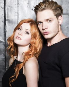Clary fray and Jace Wayland. Shadowhunters Season 1