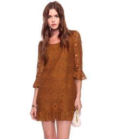 Retro Lace Dress - StyleSays