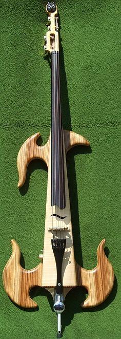 custom upright stick bass #bass #oneofakind #unique