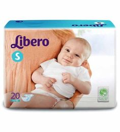LIBERO Baby Open Diapers SMALL - 20pcs