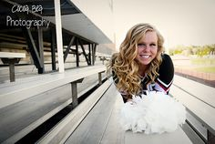 Senior Pictures - Cheer