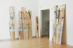 Jessica Stockholder: Hollow Places Court in Ash-Tree Wood  by The Aldrich Contemporary Art Museum, via Flickr