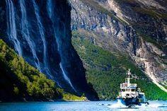 Fjordsightseeing, Geiranger