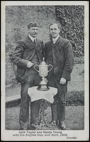 Jack Taylot and Alex Sandy Young 1906