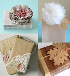 Carta da pacchi fai da te - Idee decorative