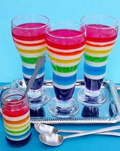To make white jello- bloom 2 packets/5 T of unflavoured gelatin in 1/2 c of cold water. Add 1/2 c boiling water to bloomed gelatin. In separate bowl, mix one can of condensed milk with 1 c of boiling water. Add gelatin/water mixture to condensed milk/water mixture. Use as per recipe.