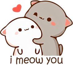 Cute Drawings Of Love, Cute Animal Drawings Kawaii, Cute Baby Girl Pictures, Cute Love Pictures, Panda Wallpapers, Cute Wallpapers, Cute Anime Cat, Cute Panda Wallpaper, Chibi Cat