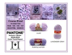 Crocus Petal - Pantone Color Trend Report Autumn Winter 2018 2019 Fashion trend analysis and yarn matching by mamapode Tight Crochet Women's Dresses, Mango Mojito, Discount Womens Clothing, Fall Fest, Ralph Lauren, Fall Winter, Autumn, Purple Rain, Pantone Color