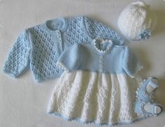 Different-Baby-In-Org Beispiele Sind, - hadido Knitting Patterns Uk, Baby Patterns, Knitting For Kids, Crochet For Kids, Free Knitting, Crochet Baby Dress Pattern, Knit Crochet, Knitted Baby Clothes, Baby Knits
