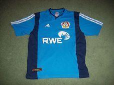 2001 2003 Bayer Leverkusen Away Football Shirt Trikot Adults Large Germany