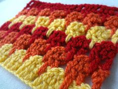 Little Treasures: Larksfoot Crochet Stitch Pattern (or the Icicle Stitch) Demistified:  I know this stick as the teardrop stitch.  It works up beautifully!   I'm grateful for this clear cut tutorial!