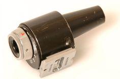 ZEISS ORIGINAL BLACK PAINT CONTAX IIa 85/135MM TORPEDO FRAME FINDER. VIEWFINDER.  | eBay