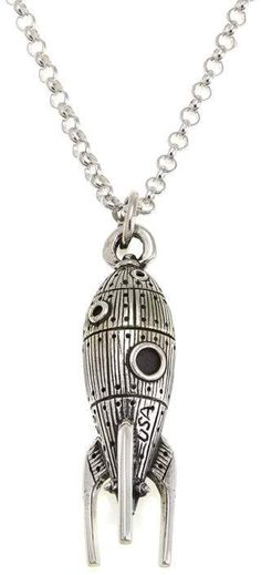 841e94be0843 King Baby Jewelry King Baby Sterling Silver Rocket Pendant with 24