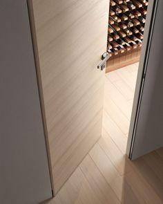 Flush-wall door Biverso by Garofoli Window Design, Door Design, Flush Doors, Door Detail, Fire Doors, Indoor Doors, Bedroom Doors, Internal Doors, Entrance Doors