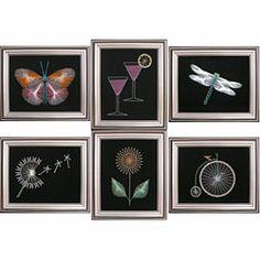 Inspiratie voor string-art schilderijtjes en (gratis en te koop) patronen