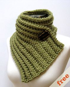 knitted fear of commitment cowl - cocoknits by julie weisenberger - free pattern & several ways of wearing