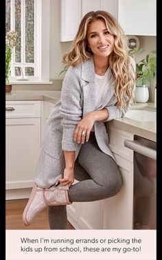Jesse James Decker Hair, Eric And Jessie Decker, Jessica James Decker, Lazy Day Outfits, Cool Outfits, Casual Outfits, Fashion Outfits, Women's Fashion, Mom Hairstyles