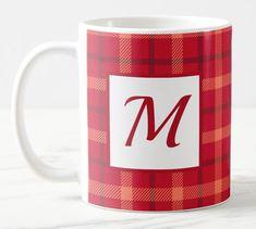 Shop Personalized Tartan Pattern Mug created by TheDigitalConsultant. Mugs For Sale, Tartan Pattern, Coffee Gifts, Mug Designs, Photo Mugs, Beverage, Microwave, Dishwasher, Scotland