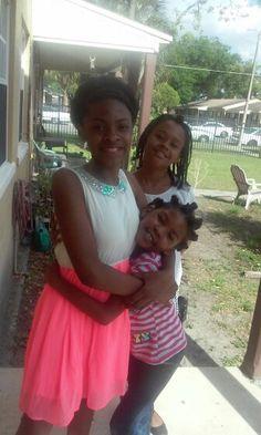My girls.. That Real Love Ya