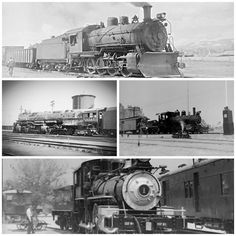 Railroad Train Photos Pictures Steam Locomotive Rio Grande B&O Southern Pacific