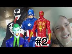 Papai RG canal no Youtube vídeos para crianças ! Brinquedos / Bonecos / Toys / Kids da Marvel e da DC Comics.Batman, Robin, Mulher Maravilha / Wonder Woman, Aquaman, Super Homem / Superman, Flash, Ciborgue / Cyborg, Coringa, Charada / Riddler, Pinguim / Penguin, Lagarto / Lizard, Abutre / Vulture, Homem Aranha / Spider Man, Thor, Homem de Ferro / Iron Man, Capitão América / Captain America #brinquedo #brinquedos #toys #toy #kids #avengers #DCComics #marvel #vingadores
