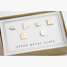 Control Earrings, $99, now featured on Fab. [T, Upper Metal Class]