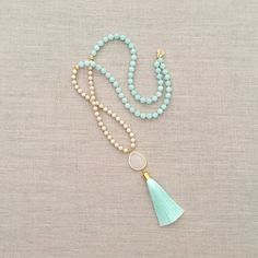 Hey, I found this really awesome Etsy listing at https://www.etsy.com/listing/266271753/the-becca-tassel-necklace