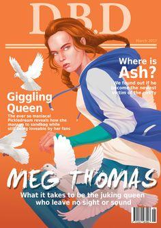 Meg Thomas - Magazine cover