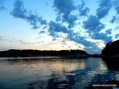 sunrise over lake cumberland
