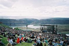 The Gorge Amphitheater - 20,000+ seat concert venue, located above the Columbia River in George - considered one of the premier and most scenic concert locations not just in North America, but the world