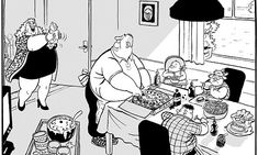 Mac on… Britain's obesity crisis Comic Strips, Britain, New Baby Products, Fill, Minnie Mouse, Disney Characters, Fictional Characters, Cartoons, Mac