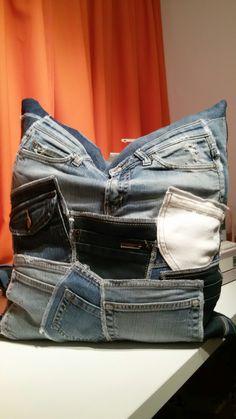 Jeanstaschen Polster