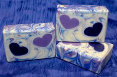 Four Embed Soap Batches for Valentine's Day Candle Making Business, Decorative Soaps, Candle Making Supplies, Homemade Soap Recipes, Candlemaking, Cold Process Soap, Home Made Soap, Handmade Soaps, Soap Making