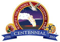 Hawai'i Volcanoes National Park Centennial Logo