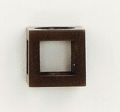 Rectangle Charm Bead Handmade by Jennifer Love