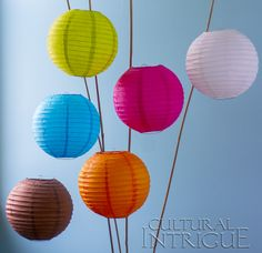 We've started selling beautiful, affordable product sets!  Check out this fab Multicolor 6-Pack of 10 Inch No Frills Paper Lanterns, only $6.95!  Make decorating easy with this bundle of fun!