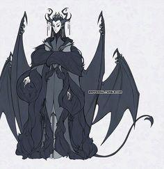Asmodeus - Courtly Attire - by dapper-owl.deviantart.com on @deviantART