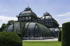 Palmenhaus in Schonbrunn, Vienna Royalty Free Stock Photo